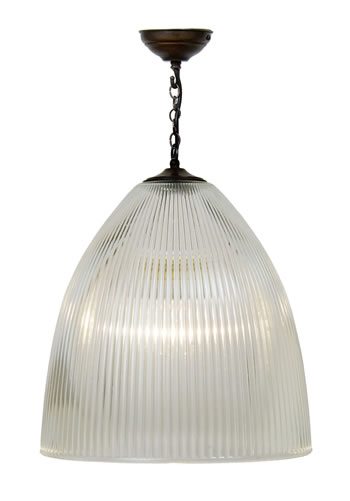 350424 - Elongated Prismatic Dome Pendant