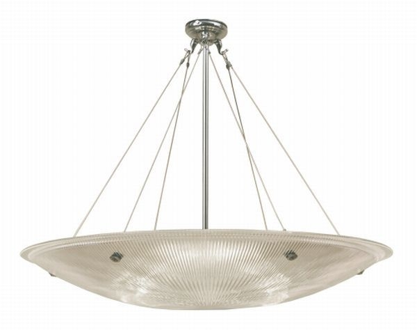 800284 - Prismatic Dish Hanging Uplighter
