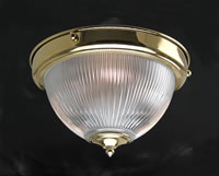 DOME632 - Prismatic Dome Flush Ceiling Light