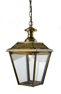 Fitzwilliam Pendant - Distressed Brass