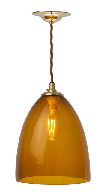 HAV38W - Whisky Havana Pendant Medium