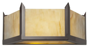 Hudson Flush Wall Light Large