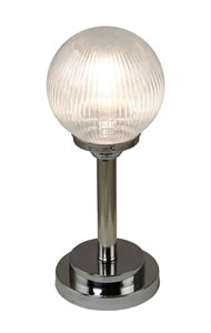 PRISM936 - Prismatic Globe Table Lamp