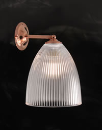 WALL343 - Elongated Dome Wall Light