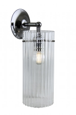 BULA86 - Reeded Cylinder Wall Light