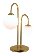 GLOBE939 - Double Opal Globe Table Light