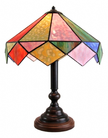 Harlequin Opal Table Lamp
