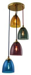 HAV84 - Havana 4 light pendant