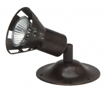 SPOT38 - Single Spot Light Antique Bronze